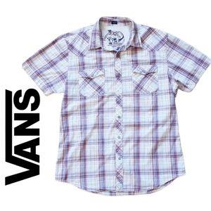 Vans- Western Short Sleeve button u